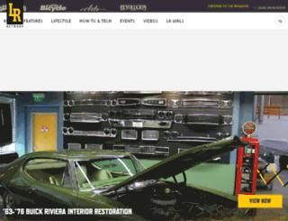 lowriderarte.com screenshot