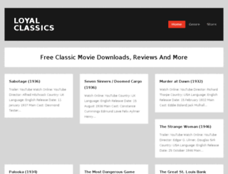 loyalclassics.com screenshot
