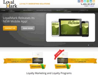loyalmark.com screenshot