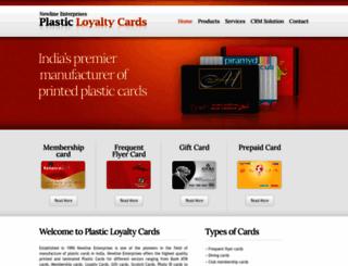 loyaltycards-india.com screenshot