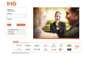 loyaltyconnect.ihg.com screenshot
