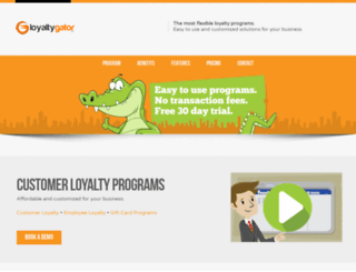 loyaltygator.com screenshot