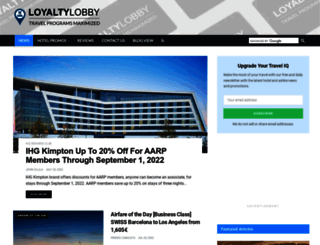 loyaltylobby.com screenshot