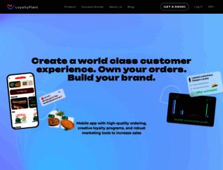 loyaltyplant.com screenshot