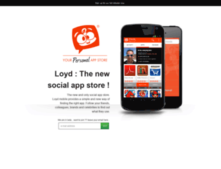 loydmobile.launchrock.com screenshot