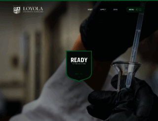 loyola.edu screenshot