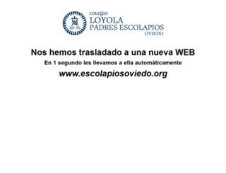 loyolaescolapios.es screenshot