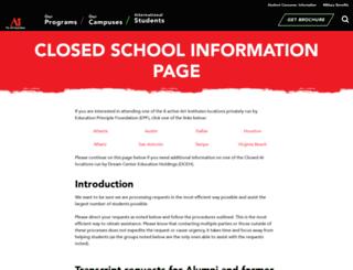 lp.aionline.edu screenshot