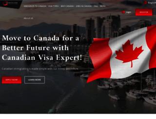 lp.canadianvisaexpert.com screenshot