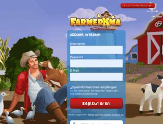lp.farmerama.de screenshot