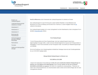 lpa1.nrw.de screenshot