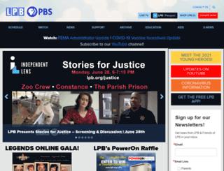 lpb.org screenshot