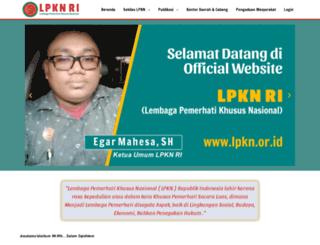 lpkn.or.id screenshot