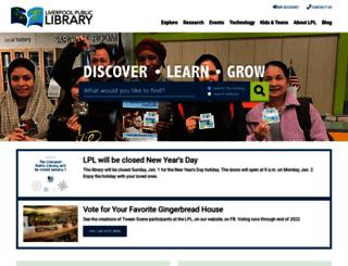 lpl.org screenshot