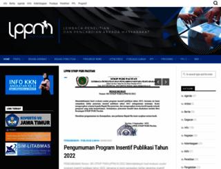 lppm.stkippacitan.ac.id screenshot