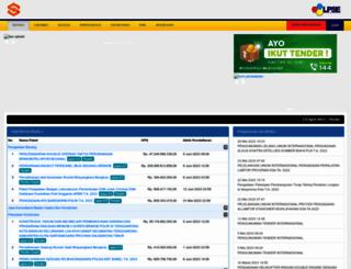 lpse.polri.go.id screenshot