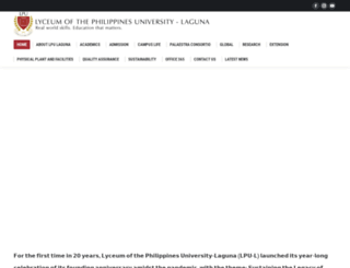 lpulaguna.edu.ph screenshot