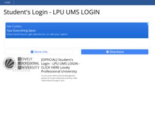 lpuumslogin.blogspot.in screenshot