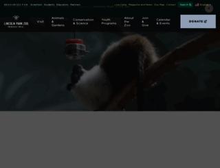 lpzoo.org screenshot