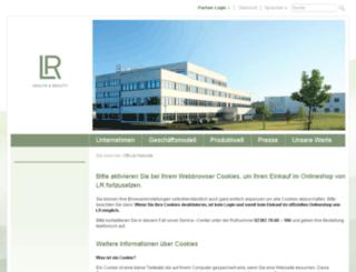 lr-cosmetic.com screenshot