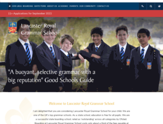 lrgs.org.uk screenshot
