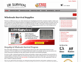 lrisurvival.com screenshot