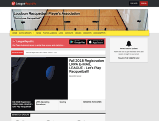 lrl2.leaguerepublic.com screenshot