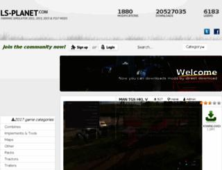 ls-planet.com screenshot