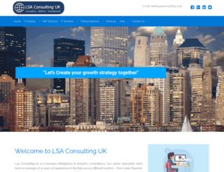lsaconsulting.co.uk screenshot