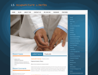 lsacupuncture.com screenshot