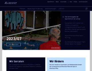 lsb-rlp.de screenshot