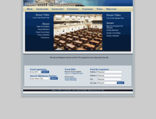 lsb.state.ok.us screenshot