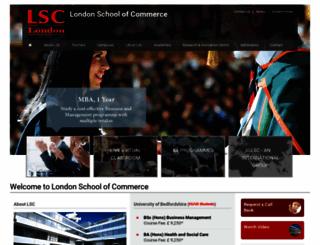 lsclondon.co.uk screenshot