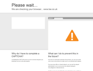 lse.co.uk screenshot