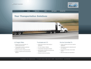 lsfreight.com screenshot