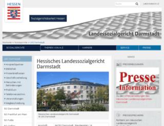 lsg-darmstadt-justiz.hessen.de screenshot
