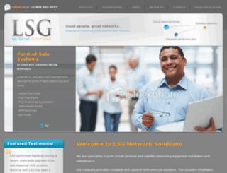 lsgnetworksolutions.com screenshot