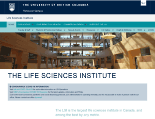 lsi.ubc.ca screenshot