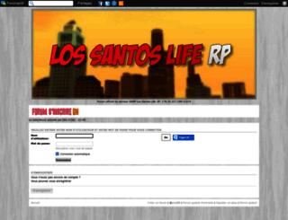 lslife.forumperso.com screenshot