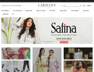 lsmfabrics.com screenshot