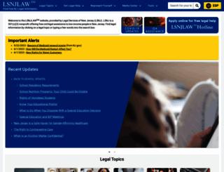 lsnjlaw.org screenshot
