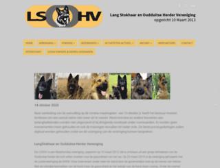 lsohv.nl screenshot