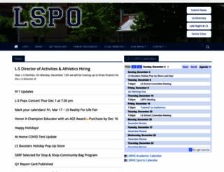 lspo.org screenshot