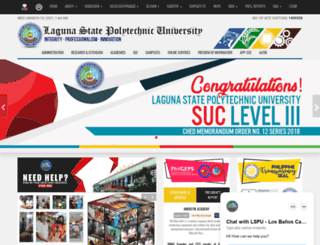 lspu.edu.ph screenshot