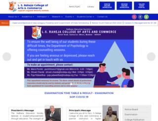 lsraheja.org screenshot