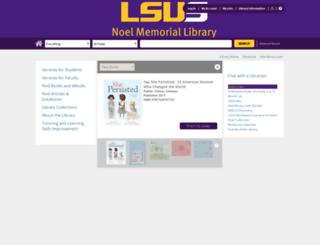 lsus.louislibraries.org screenshot