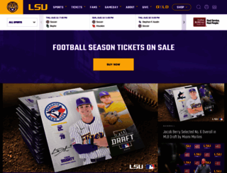 lsusports.net screenshot