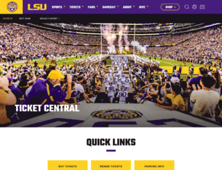 lsutix.net screenshot