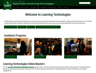 lt.unt.edu screenshot