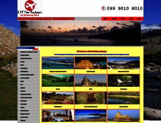 ltc-tour-packages.com screenshot